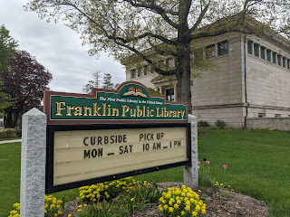 Franklin Residents: Curbside Pickup Updates at the Franklin Public Library
