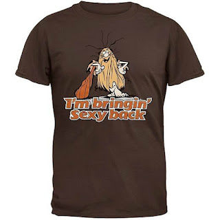 "Captain Caveman ""I'm Bringing Back Sexy"" T-shirt"
