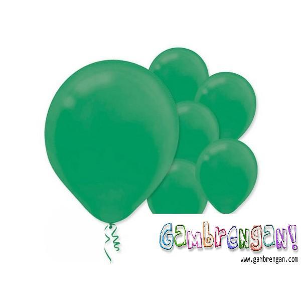 Balon dekorasi Hijau Tua