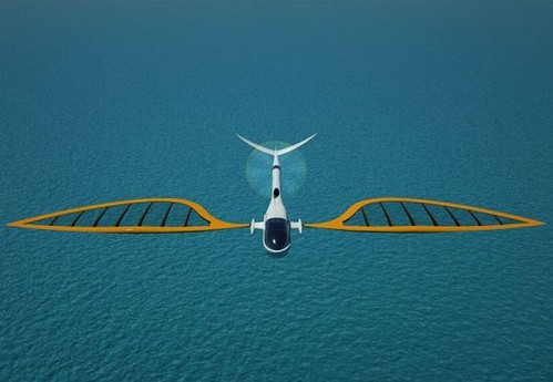 Sailing aircraft-boat and plane