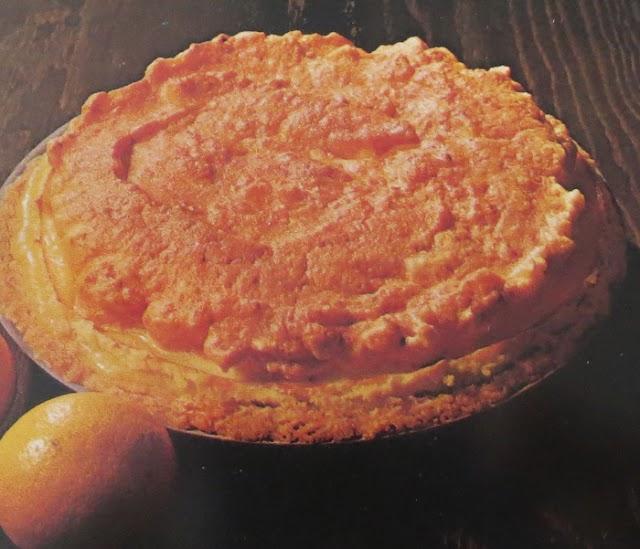 Citron- och marängpaj (mjölkproteinfri)