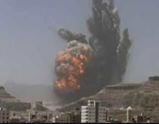 التحالف السعودي يواصل قصف المناطق السكنية في اليمن