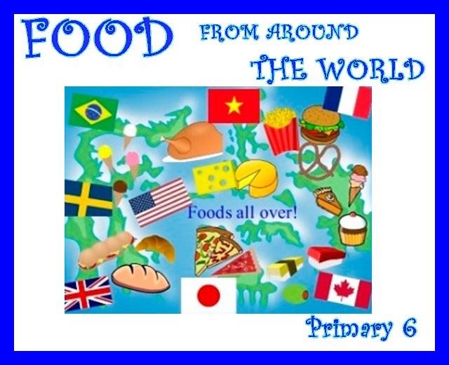 Ugao english corner food from around the world for Around the world cuisine