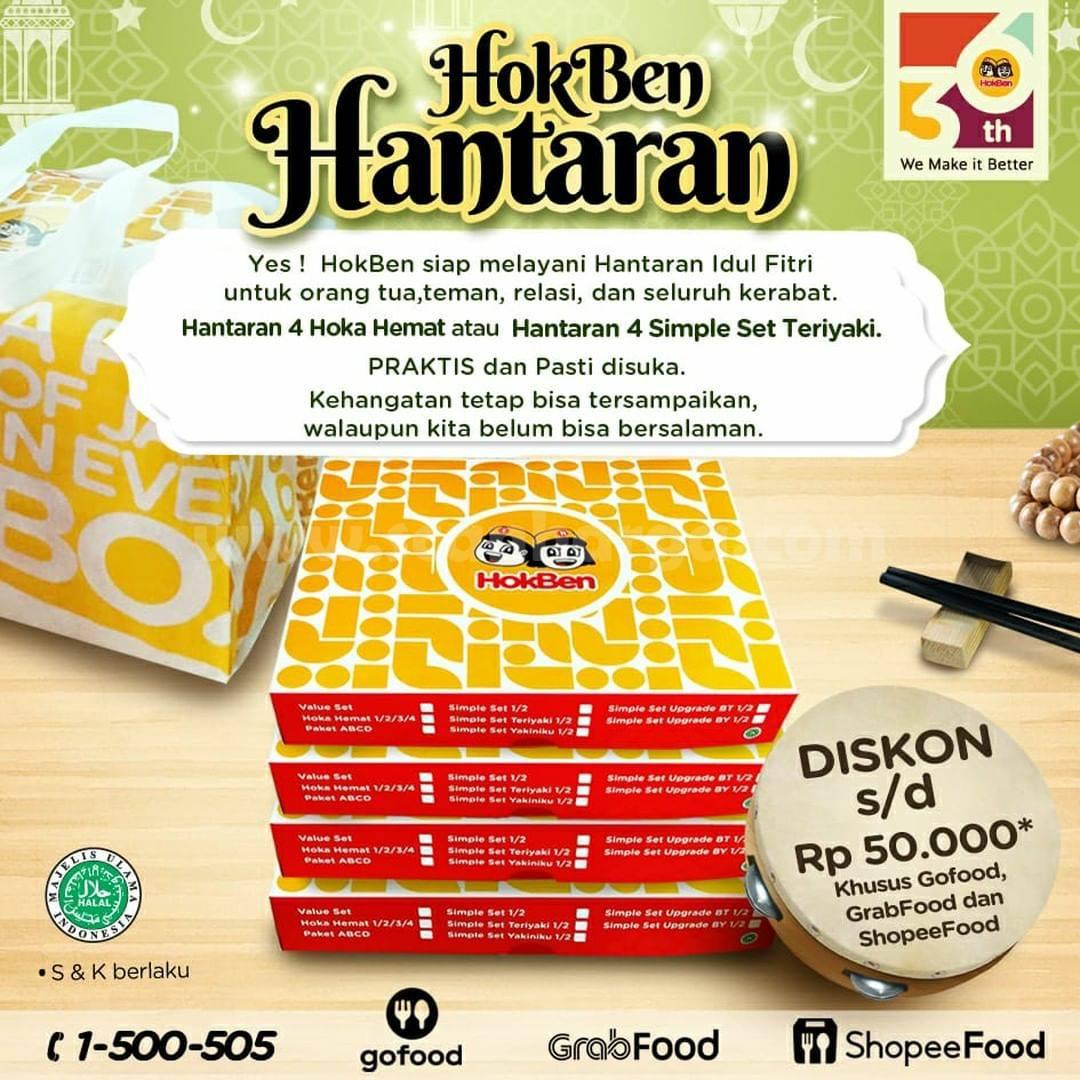 Promo HOKBEN Paket HANTARAN – DISKON hingga Rp. 50.000