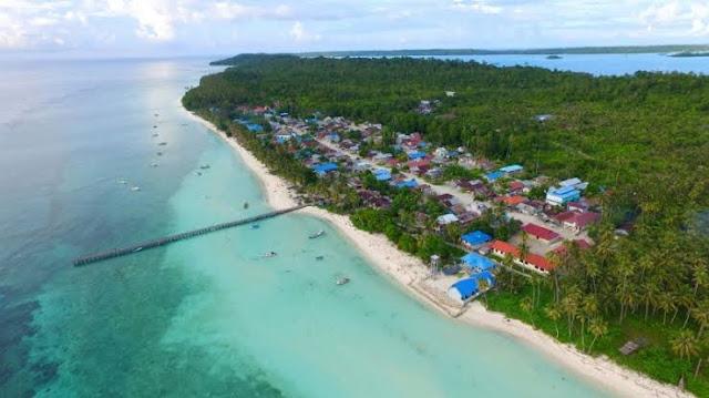 wisata bahari ke Kepulauan Maratua di Kalimantan Timur