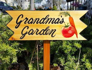 For grandmothers who enjoy gardening, a custom-made Grandma's Garden sign is a great gift idea.