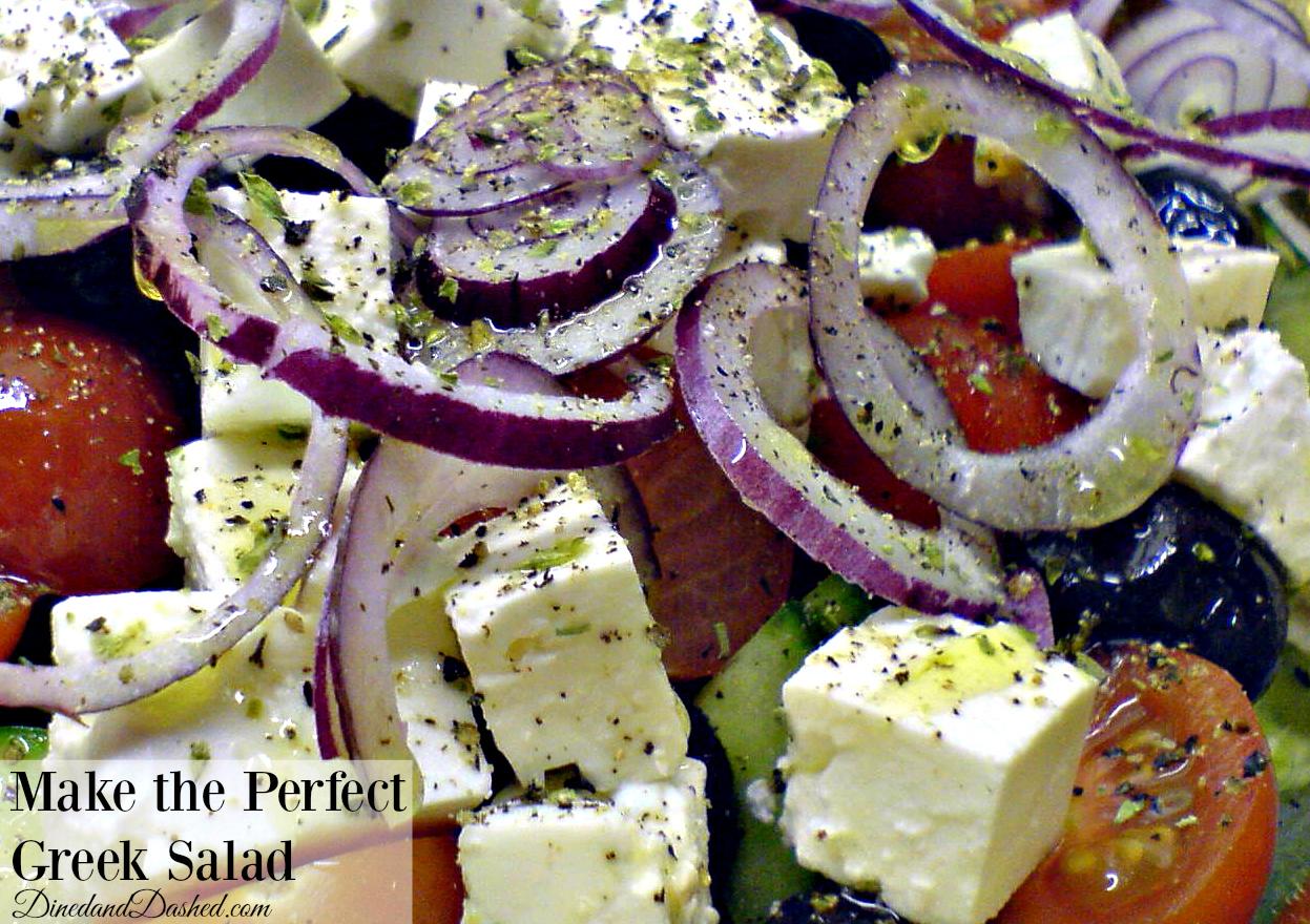 Make the Perfect Greek Salad