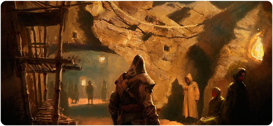 Gilles Beloeil arte de Assassin's Creed Revelations