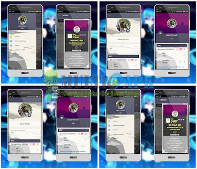 BBM Mod Mi-Cloud v2 Theme v3.2.5.12 Apk