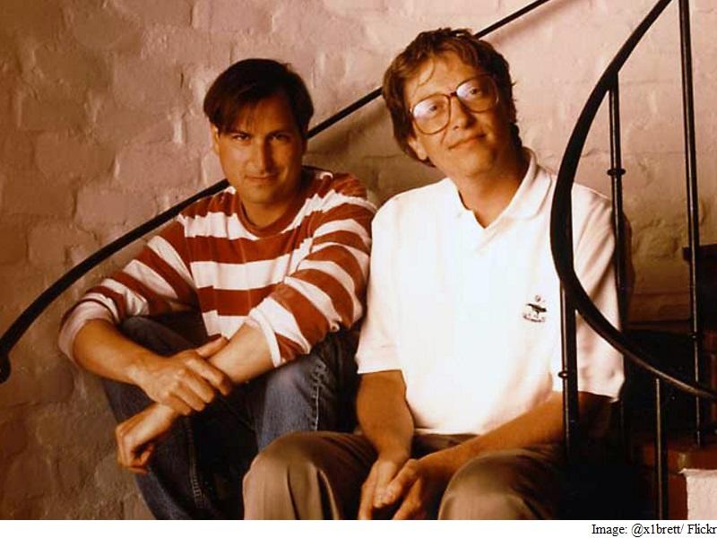 bill gates and stive jobs friendship, bill gates and stive jobs friendship story, bill gates and steve jobs friendship history