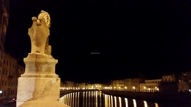 Beautiful bridge in Pisa