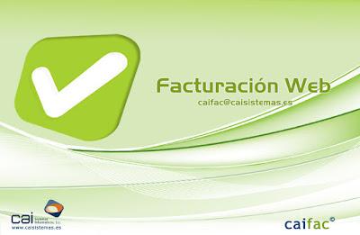 software de facturación en la nube: CAIFAC en la web - facturación online para asesoría y autónomos