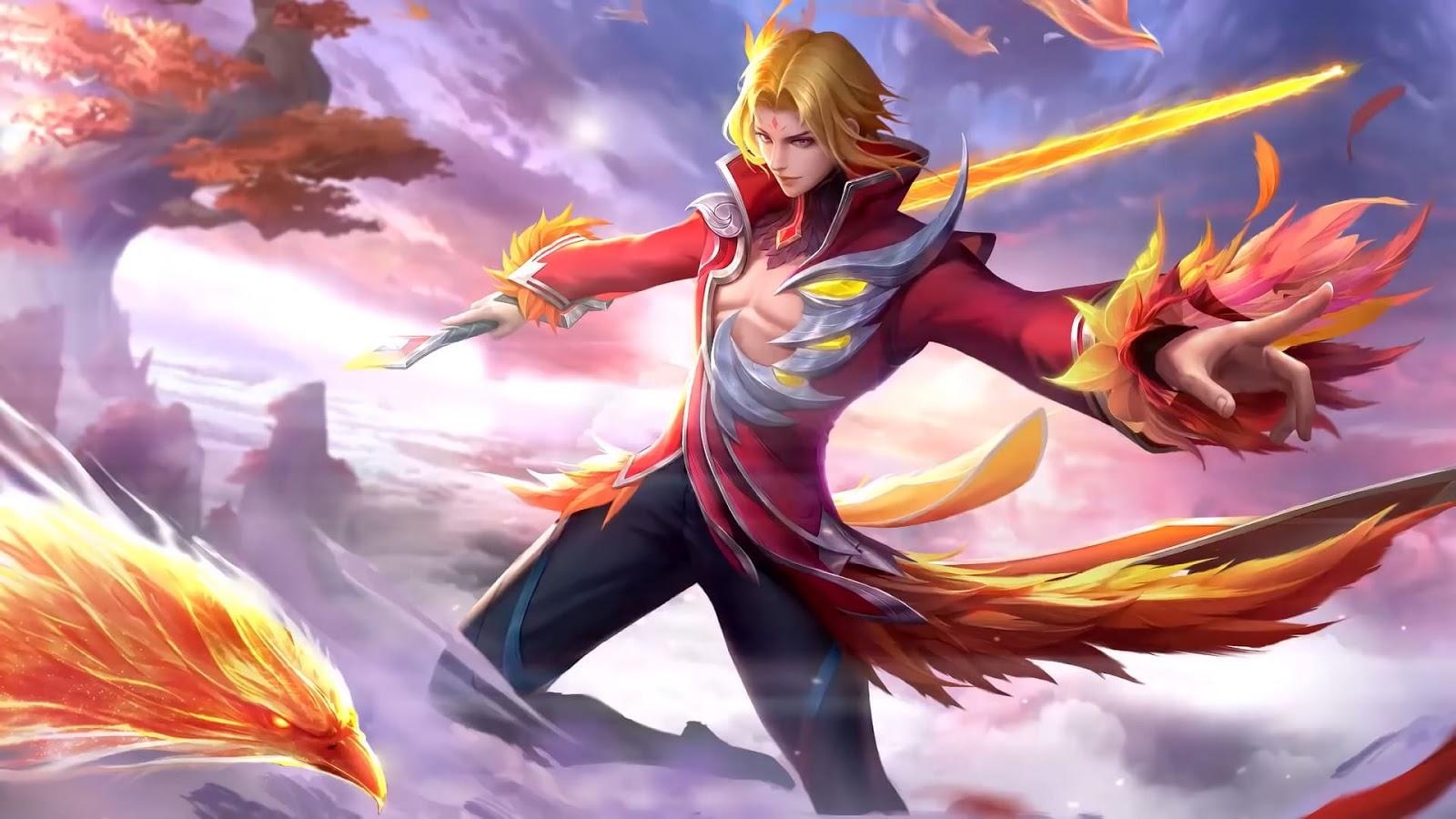 Wallpaper Ling Fiery Dance Skin Mobile Legends HD for PC