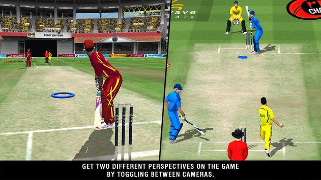 World Cricket Champions 2 Android Game Photos