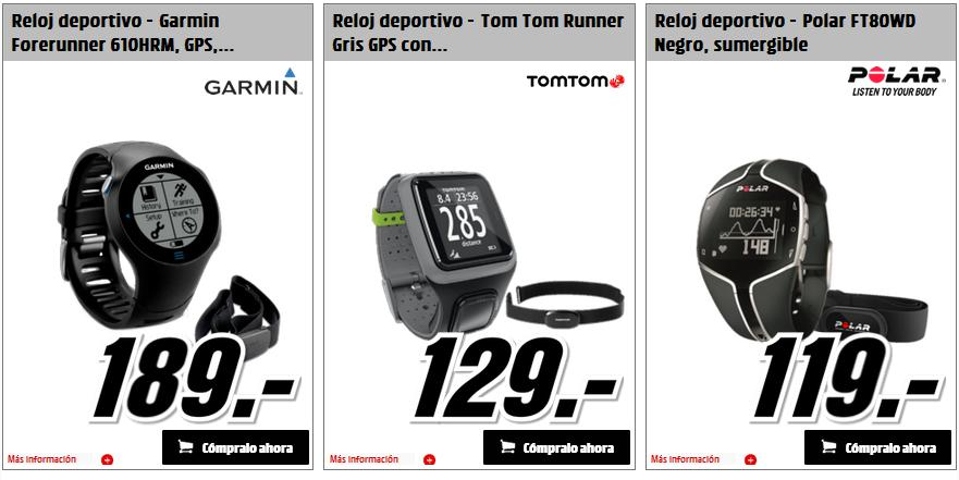 """0443583b8e87 Media Markt Catálogos  Media Markt """"Relojes deportivos"""" 2015"""