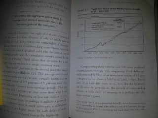 """""""Over time, the aggregate gains made by shareholders must of necessity match the business gains of the company."""""""