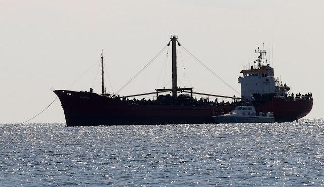Κατασχέθηκε το πλοίο που μετέφερε 410 τόνους εκρηκτικά