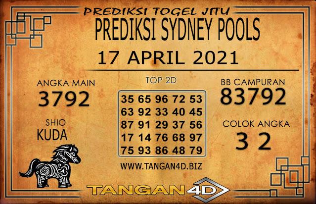 PREDIKSI TOGEL SYDNEY TANGAN4D 17 APRIL 2021
