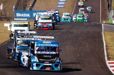 Quinta etapa da Copa Truck acontece no Rio Grande do Sul. Crédito: Instagram @copatruck