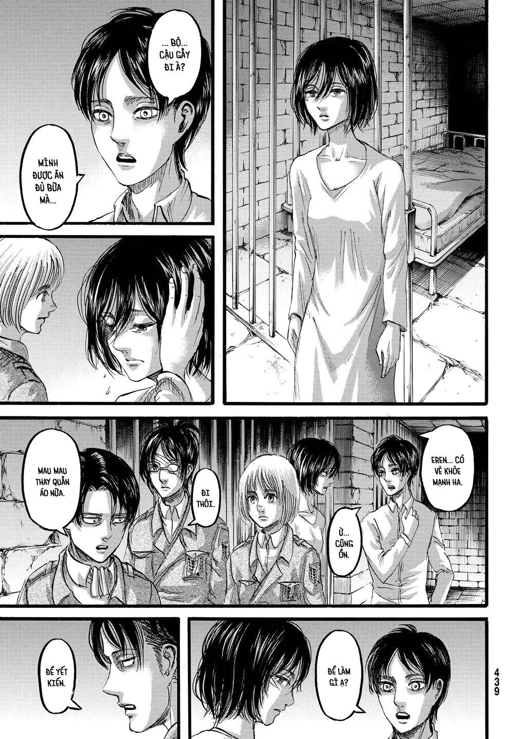 Shingeki no Kyojin - Attack on Titan Chap 89 page 5 Congtruyen24h