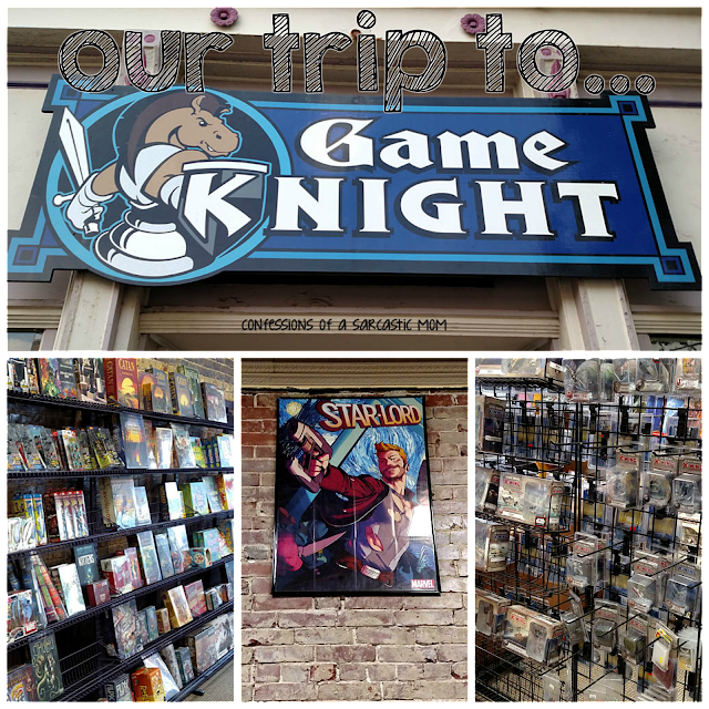 Our trip to Game Knight