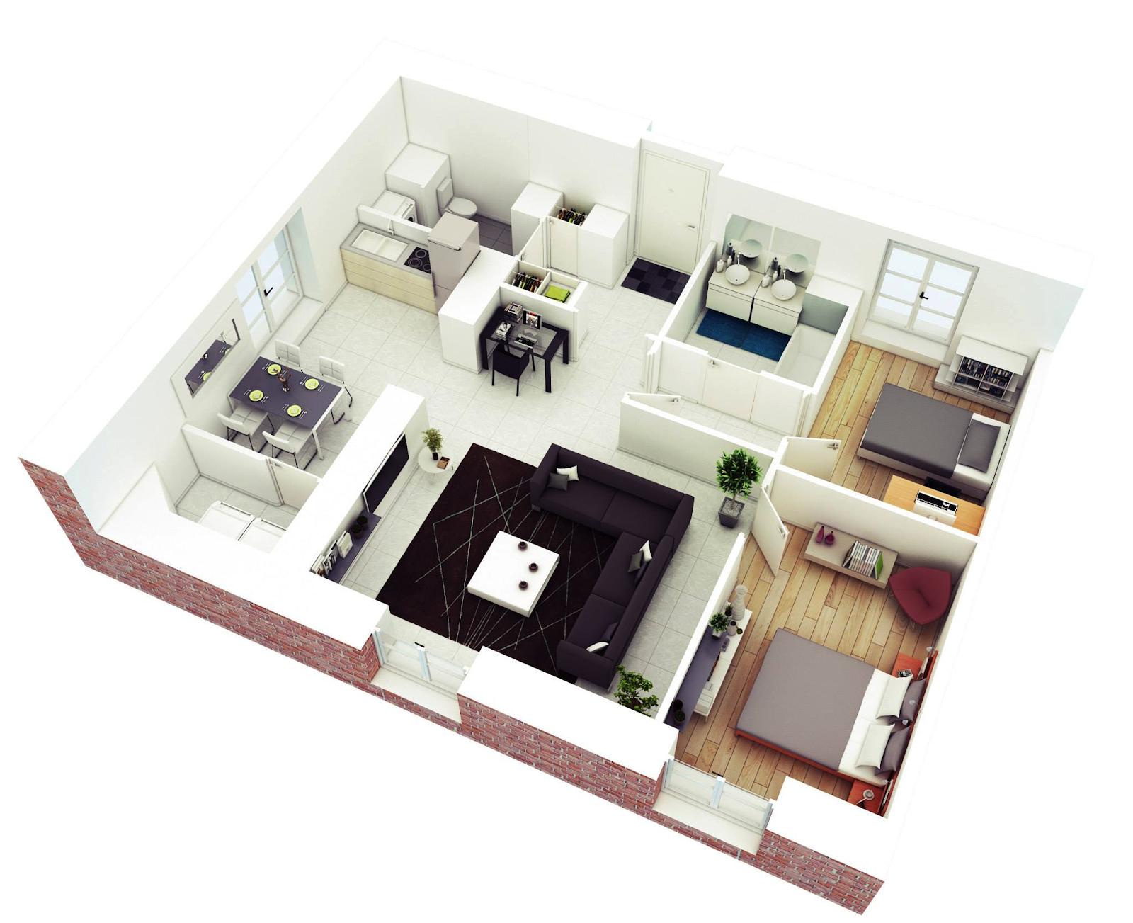 Model Desain Rumah Minimalis Modern Terbaru Tenda Visual