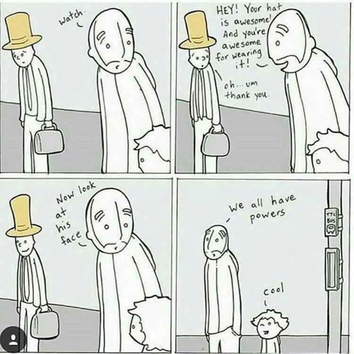 """We all have powers"" - so put them to good use and lift others up"