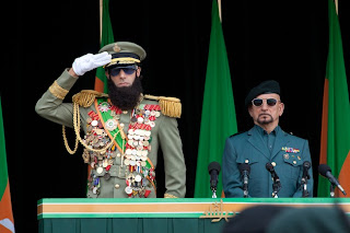 Sacha Baron Cohen and Ben Kingsley in 'The Dictator'