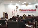 Kecam Peristiwa Sigi, Pjs Bupati Lasro Marbun Pamitan Kepada DPRD Samosir