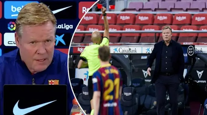 Koeman reveals his two-game ban was something personal