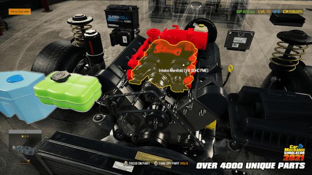 تحميل لعبة Car Mechanic Simulator 2021 للكمبيوتر برابط مباشر