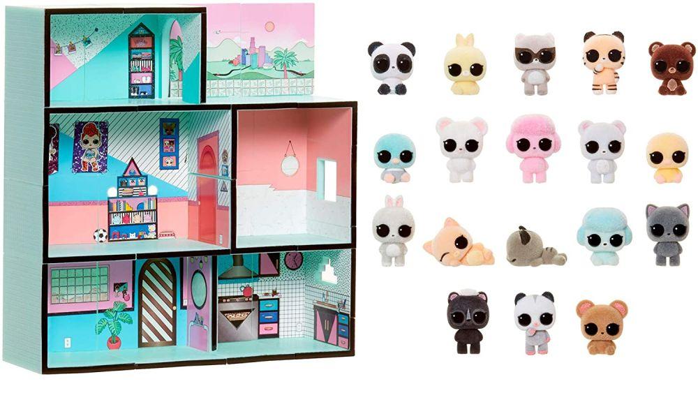 Кукольный домик L.O.L. Surprise Minis с питомцами