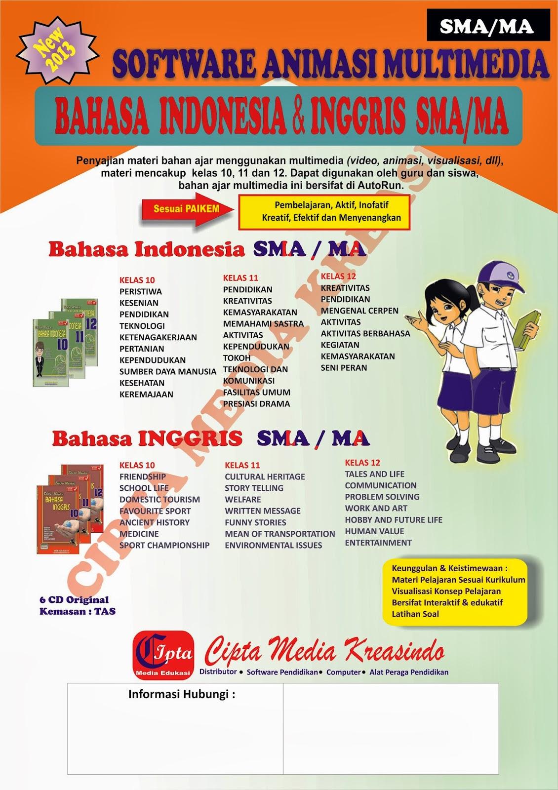 Contoh Ptk Speaking Bahasa Inggris Contoh Proposal Ptk Bahasa Inggris Media Grafika Interaktif Mata Pelajaran Bahasa Indonesia And Bahasa Inggris Smama