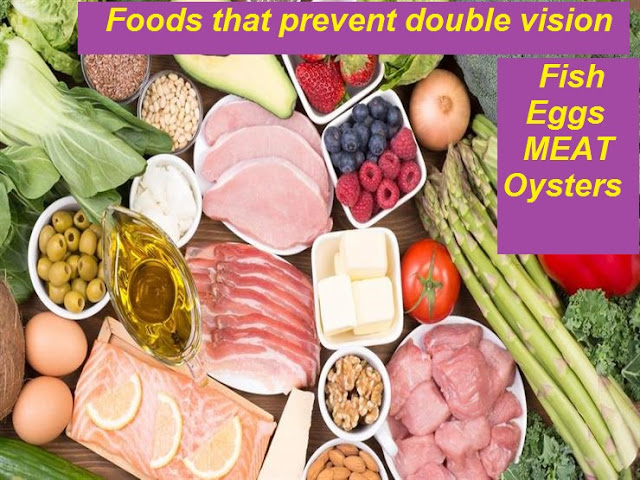 Foods that prevent double vision