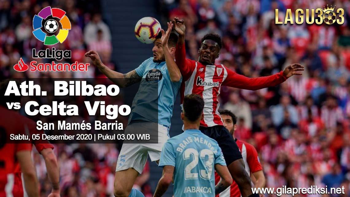 Prediksi Athletic Bilbao vs Celta Vigo 05 Desember 2020 pukul 03.00 WIB