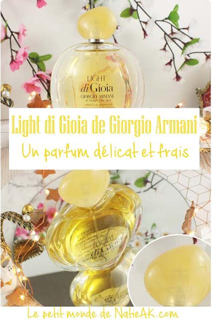 impressions sur le parfum estival de Armani