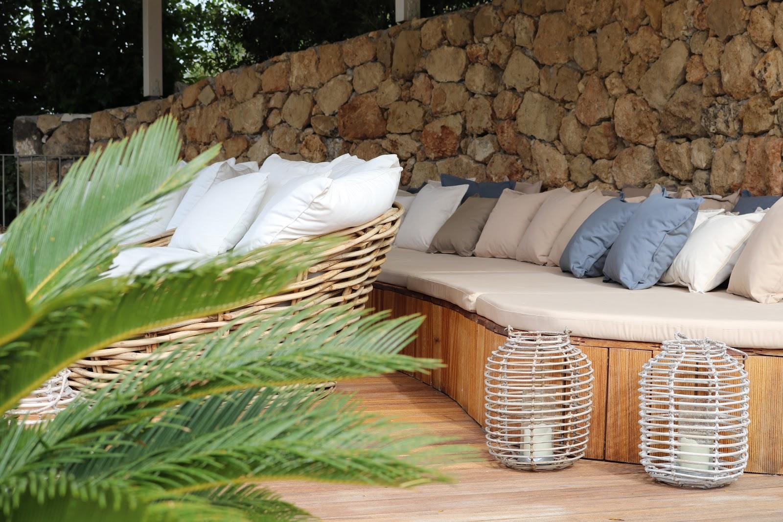 sun beds, F Zeen Resort, Unique Villas, Kefalonia