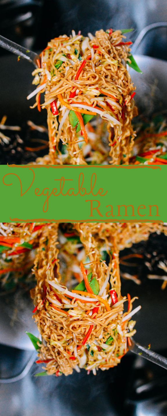 VEGETABLE RAMEN #noodles #healthyrecipe #ramen #vegan #vegetable