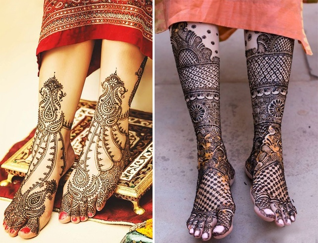 Mehndi Patterns For Legs : Advertisement beautiful arabic mehendi design for legs stunning
