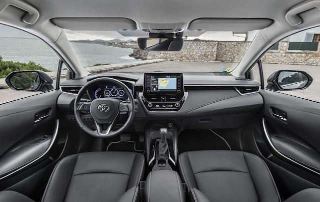 Novo Corolla 2020 Hybrid - painel