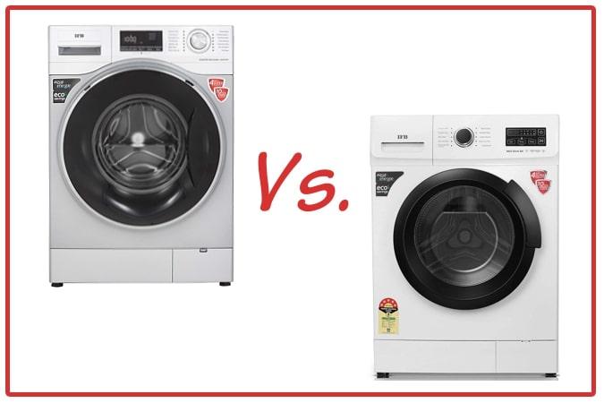IFB Senator WXS (left) and IFB Neo Diva BX (right) Washing Machines.