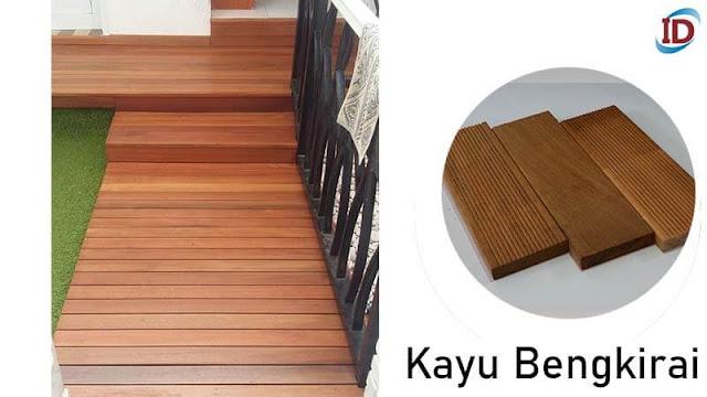 Jenis kayu terbaik untuk lantai 3 Bengkirai