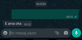 Whatsapp Boş Mesaj Gönderme