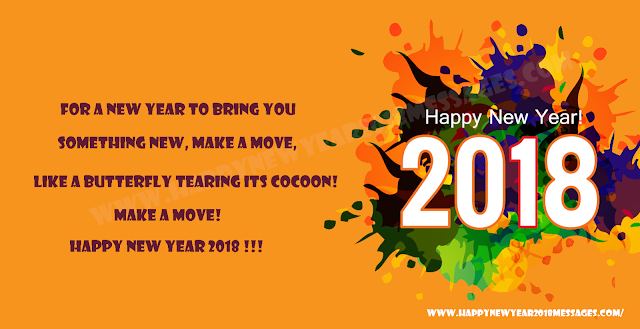 New Year 2018 Pictures Messages
