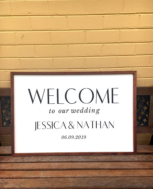 DIY Wedding Sign Using the Cricut Maker