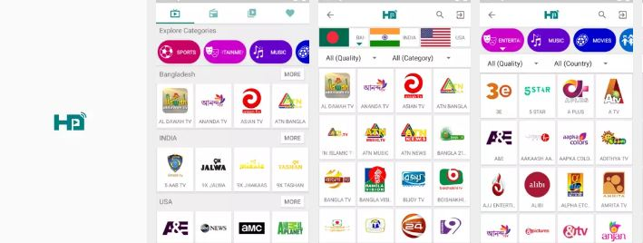 live tv channel for android - Msc Ads