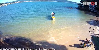 Bombinhas Santa Catarina Praia da Sepultura