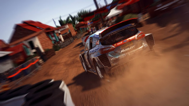 WRC 9 Video game Screen Shot
