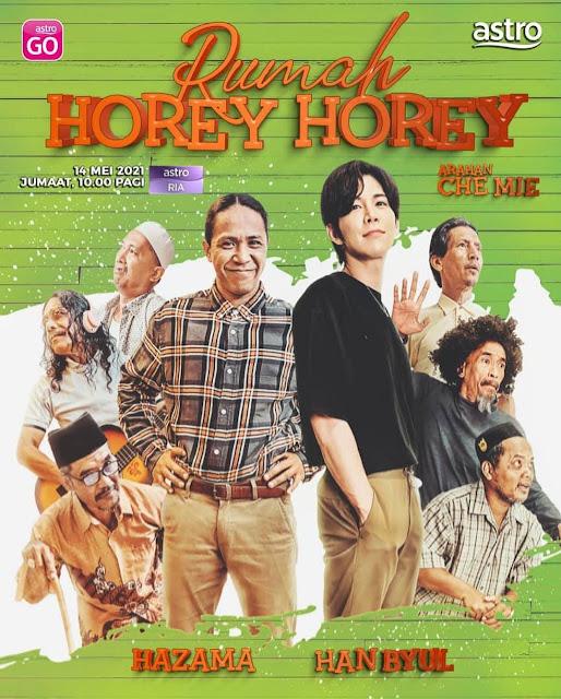 Sinopsis Telefilem Rumah Horey Horey