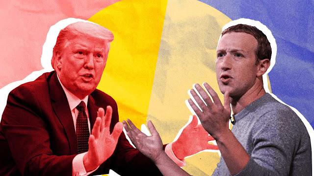مارك زوكربيرج يرد على منتقديه حول سبب عدم إزالة فيسبوك لمنشور الرئيس الأمريكي المحرض على العنف !